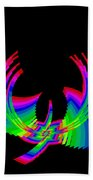 Kinetic Rainbow 49 Beach Towel