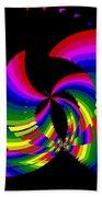 Kinetic Rainbow 51 Beach Towel
