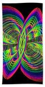 Kinetic Rainbow 55 Beach Towel
