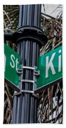 King And Queen Street Beach Towel