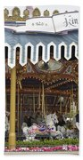King Arthur Carrousel Fantasyland Disneyland Beach Towel