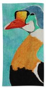 King Eider Beach Towel