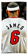 King James Beach Towel