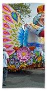 King Of The Butterflies Beach Sheet