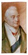 King William Iv Of England (1765-1837) Beach Towel