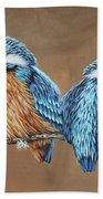 Kingfishers Beach Towel