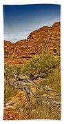 Kings Canyon-the Rim V2 Beach Towel