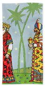 Kings With Gifts Beach Towel