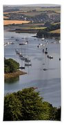 Kingsbridge Estuary Devon Beach Towel