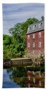 Kingston Mill Near Princeton New Jersey Beach Sheet