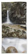 Kinsman Falls - Franconia Notch State Park New Hampshire Beach Towel
