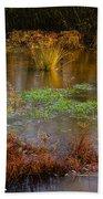 Kintbury Newt Ponds Beach Towel