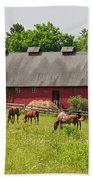 Kirtland Hills Farm 0722 Beach Towel