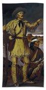 Kit Carson (1809-1868) Beach Towel