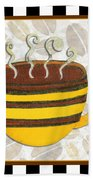 Kitchen Cuisine Hot Cuppa No14 By Romi And Megan Beach Towel