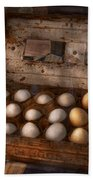 Kitchen - Food - Eggs - 18 Eggs  Beach Towel