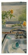 Kitchen Sink Beach Towel
