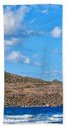 Kitesurfer 02 Beach Towel by Antony McAulay