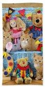 Kitten Dress Box Ck526 Beach Towel