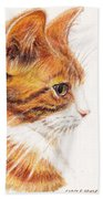 Kitty Kat Iphone Cases Smart Phones Cells And Mobile Cases Carole Spandau Cbs Art 338 Beach Towel