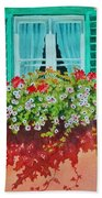 Kitzbuhel Window Beach Towel