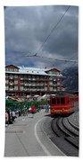 Kleine Schedegg Switzerland Beach Towel