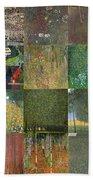 Klimt Landscapes Collage Beach Sheet