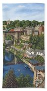 Knaresborough Yorkshire Beach Towel