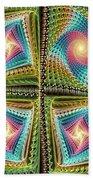 Knitting Beach Towel by Anastasiya Malakhova