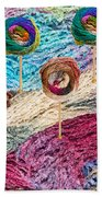 Knitting Lane Beach Towel