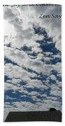 Knock On The Sky 2 Beach Towel