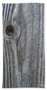 Knotty Plank #3a Beach Towel