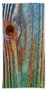 Knotty Plank #3b Beach Towel