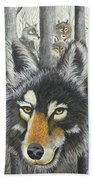 Knoxville Wolves Beach Towel