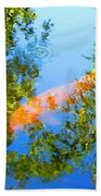 Koi Fish 3 Beach Towel