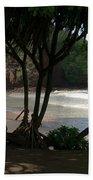 Koki Beach Hana Maui Hawaii Beach Towel