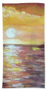 Kona Sunset Beach Towel