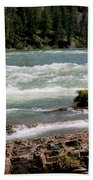 Kootenai Falls Montana Beach Towel