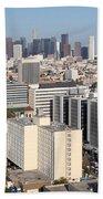 Koreatown Area Of Los Angeles California Beach Towel