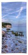 Kreidefelsen Beach Towel