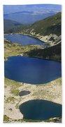 Kremenski Lakes Pirin National Park Bulgaria  Beach Towel
