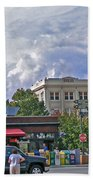 Kress Building Asheville Beach Towel