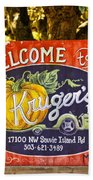 Kruger's Farm Beach Towel
