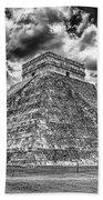 Kukulcan Pyramid V2 Beach Towel