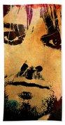 Kurt Cobain 3 Beach Towel