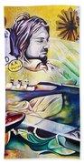 Kurt Cobain- It Aint Medicine Kurt Beach Towel