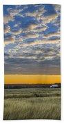 Kyle Barn Sunrise Beach Towel
