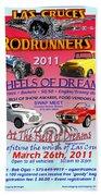 L C Rodrunner Car Show Poster Beach Towel