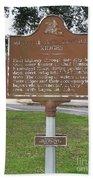 La-009 Metairie And Gentilly Ridges Beach Towel