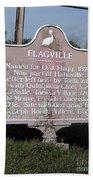 La-021 Flagville Beach Towel